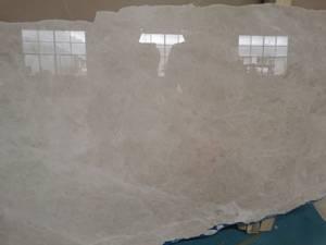 Bilde av Marmorbord i Crema i 80 cm * 80 cm med understell